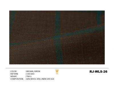 Wool Linen Silk